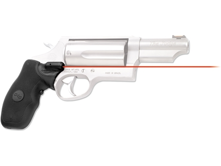 Crimson Trace Lasergrips Taurus Judge Overmolded Rubber Black