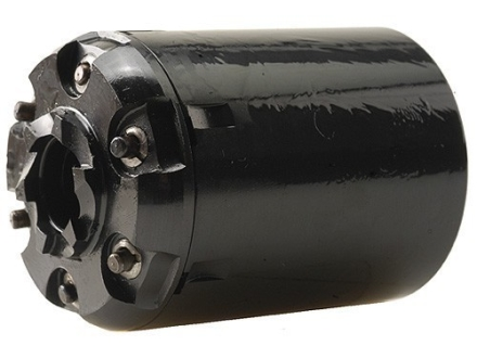 Howell&#39;s Old West Semi Drop In Conversions Drop-In Conversion Cylinder 44 Caliber Uberti Walker Steel Frame Black Powder Revolver 45 Colt (Long Colt) 6-Round Blue
