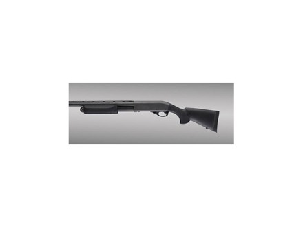 Hogue OverMolded Stock and Forend Remington 870 12 Gauge 12&quot; Length of Pull Rubber Black