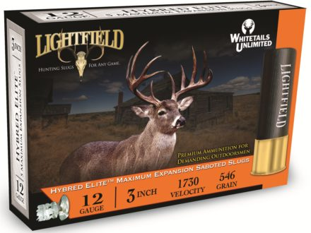 Lightfield Hybred-Elite Ammunition 12 Gauge 3&quot; 1-1/4 oz Sabot Slug Box of 5