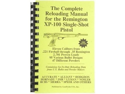 Loadbooks USA &quot;Remington XP-100&quot; Reloading Manual