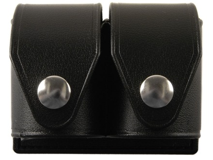HKS Double Speedloader Pouch Hytrel Plain Black Large