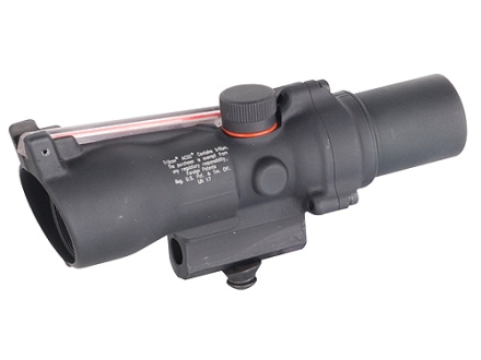 Trijicon ACOG TA47 Compact BAC Rifle Scope 2x 20mm Dual-Illuminated Red Triangle Reticle with AR-15 Carry Handle Base Matte