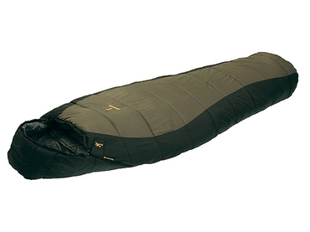 "Browning Yellowstone 20 Degree Sleeping Bag 34"" x 80"" Nylon Clay and Black"