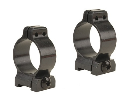 Talley 1&quot; Quick Detachable Scope Rings With Screw Lock Matte Low