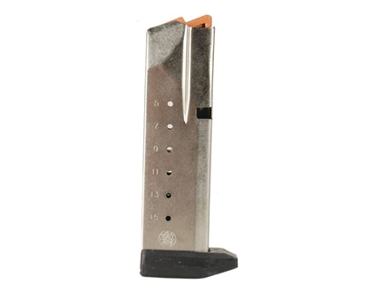 Smith & Wesson Magazine S&W SW40F Sigma 40 S&W 15-Round Stainless Steel