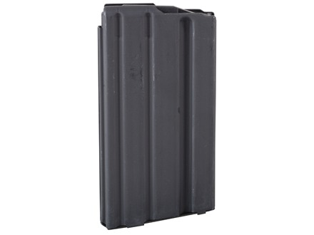 AR-Stoner Magazine AR-15 223 Remington 20-Round Straight Body with Anti Tilt Follower Stainless Steel Black