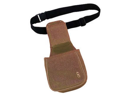 Bob Allen Classic Duplex Shotgun Shell Pouch and Hull Bag with Upper Shell Box Pouch and Belt