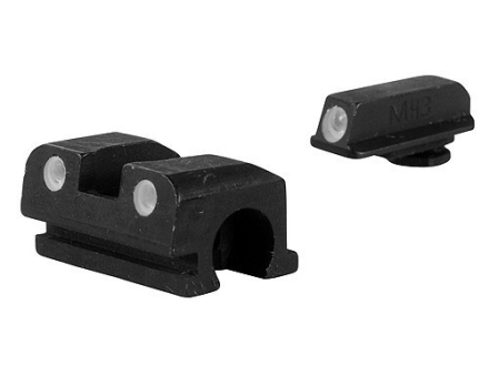 Meprolight Tru-Dot Sight Set Walther P99 Compact Steel Blue Tritium Green