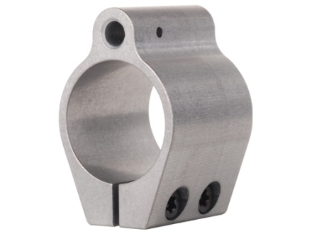 Badger Ordnance Low Profile Gas Block Clamp On AR-15, LR-308 Standard Barrel .875&quot; Inside Diameter Stainless Steel