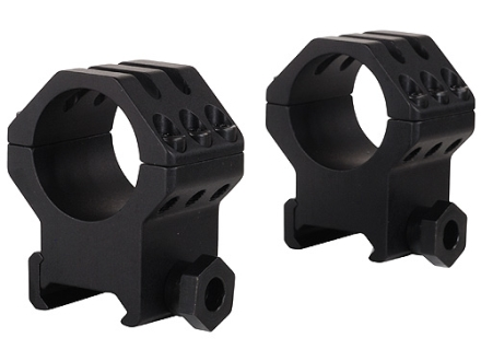 Weaver 1&quot; Tactical 6-Hole Weaver-Style Rings Matte Extra-High