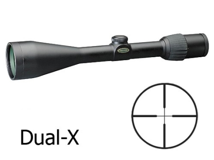 Weaver Grand Slam Rifle Scope 3.5-10x 50mm Dual-X Reticle Matte