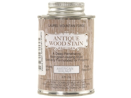 Laurel Mountain Antique Wood Stock Stain American Walnut 4 oz Liquid