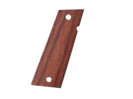 Hogue Fancy Hardwood Grips Caspian Double Stack Checkered Rosewood Laminate