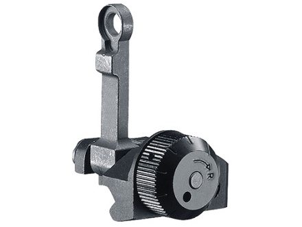 Colt Flip-Up Rear Sight AR-15 22 Tactical Rimfire Steel Matte