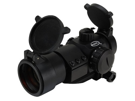 ADCO Mirage Tactical Red Dot Sight 30mm Tube 1x 3 MOA Dot with Cantilever 1-Piece Picatinny-Style Mount Matte