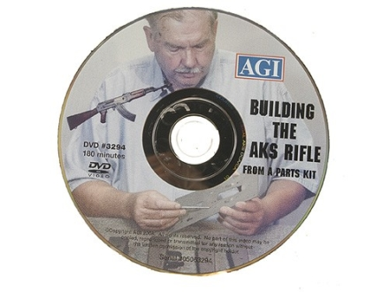 "American Gunsmithing Institute (AGI) Video ""Building the Legal AKS Rifle from a Parts Kit"" DVD"