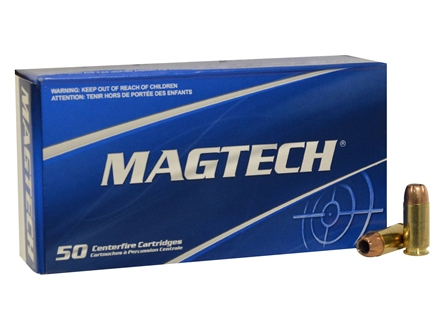Magtech Sport Ammunition 40 S&W 180 Grain Jacketed Hollow Point Box of 50