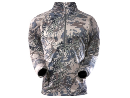 Sitka Gear Men's Core Zip-T Base Layer Shirt Long Sleeve Polyester