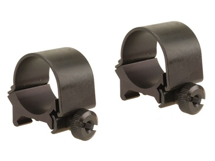 "Weaver 1"" Top-Mount Rings Matte Low"
