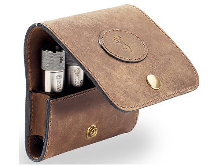 Browning Choke Tube Case Crazy Horse Leather
