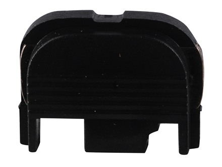Glock Slide Cover Plate Glock 17, 19, 20, 21, 22, 23, 24, 25, 26, 27, 28, 29, 30, 31, 32, 33, 34, 35, 36, 37, 38, 39 Polymer Black