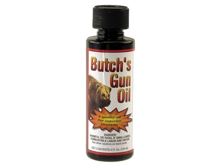Butch's Gun Oil 4 oz Liquid