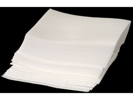 Butch's Triple Twill Cleaning Patches 45 to 58 Caliber Square Twill Cotton Package of 375