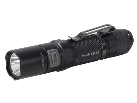 Fenix LD12 Flashlight White LED Aluminum Black