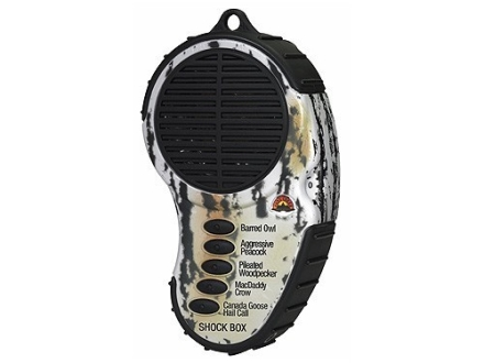 Cass Creek Shock Box Locator Electronic Turkey Call with 5 Digital Sounds
