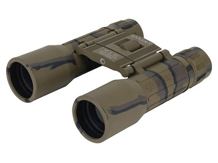Barska Lucid View Binocular 16x 32mm Roof Prism Rubber Armored Camo