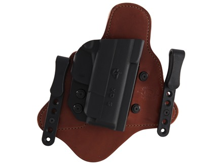 Comp-Tac Minotaur MTAC Inside the Waistband Holster Right Hand Springfield XDS 45 Kydex and Leather Black/Tan