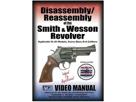 American Gunsmithing Institute (AGI) Disassembly and Reassembly Course Video &quot;Smith &amp; Wesson Revolvers&quot; DVD