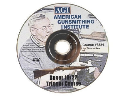 American Gunsmithing Institute (AGI) Trigger Job Video &quot;The Ruger 10/22&quot; DVD