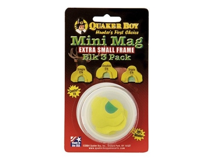 Quaker Boy Mini-Mag Elk Call Pack of 3