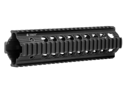 "Troy Industries 9"" Bravo Battle Rail Free Float Quad Rail Handguard AR-15 Black"