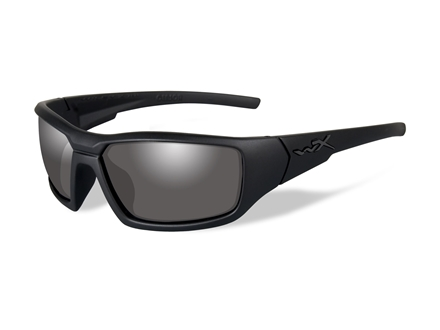 Wiley X Black Ops WX Censor Polarized Sunglasses Smoke Grey Lens