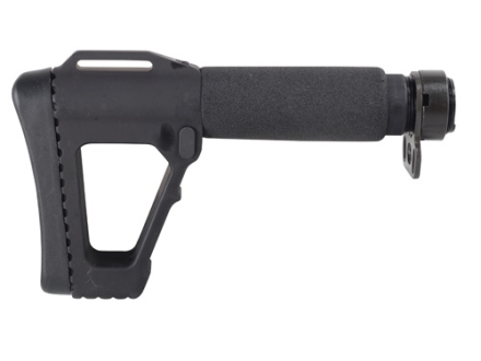 "ACE M4 SOCOM Gen 4 Buttstock 5-Position Collapsible 7-1/2"" to 9-1/2"" AR-15, LR-308 Aluminum Black"