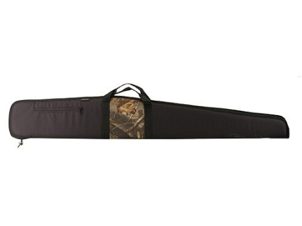 Bulldog Shotgun Gun Case with Pocket 52&quot; Black and Camo