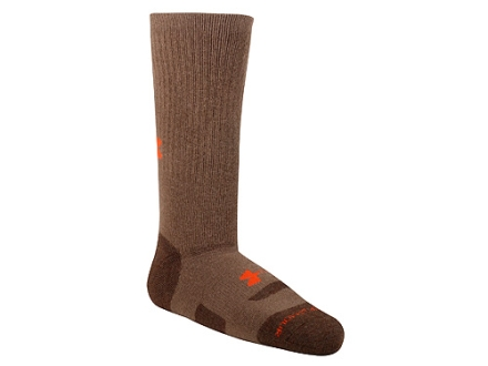 Under Armour Mens Midweight Boot Socks Synthetic Blend 