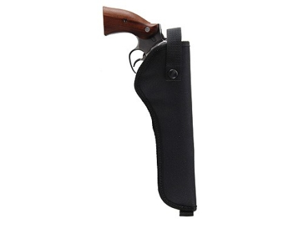 "Hunter 1210 Ruffstuff Holster Right Hand Medium and Large Frame Double-Action Revolver 4"" Barrel Nylon Black"