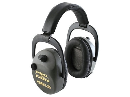 Pro-Ears Sporting Clay Gold Electronic Earmuffs (NRR 25 dB)