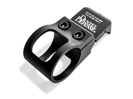 Daniel Defense Offset Picatinny Rail Flashlight Mount 1&quot; Ring Diameter Aluminum Black