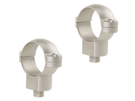 "Leupold 1"" Quick-Release Rings Silver High"