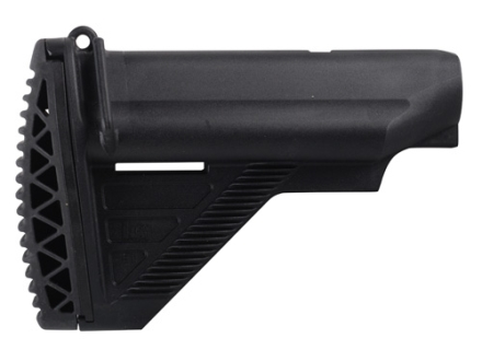 HK E1 Buttstock Mil-Spec Diameter Collapsible AR-15, MR556 Carbine Synthetic Black