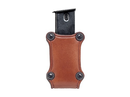 Hunter 5400 Pro-Hide Single Magazine Pouch Single-Stack Magazine Leather Brown