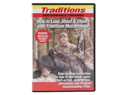 "Traditions Video ""How to Load, Shoot and Clean your Black Powder"" DVD"