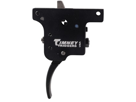 Timney Trigger Winchester Model 70 with MOA 1 to 3 lb Steel Blue