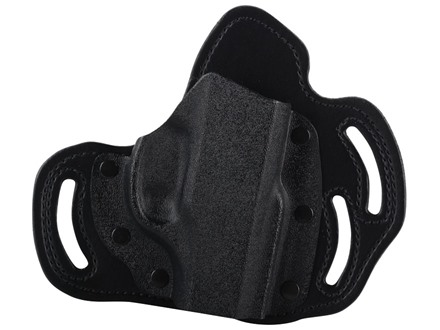 DeSantis Intimidator Outside the Waistband Holster Right Hand Ruger LC9 Kydex and Leather Black