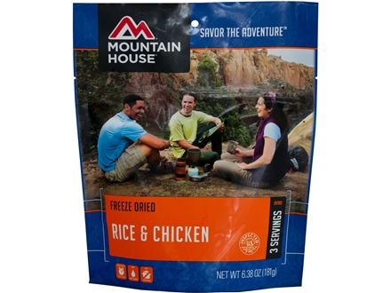 Mountain House Rice and Chicken Freeze Dried Meal 6.4 oz